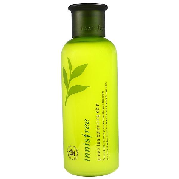 Innisfree, Green Tea Balancing Skin, 200 ml