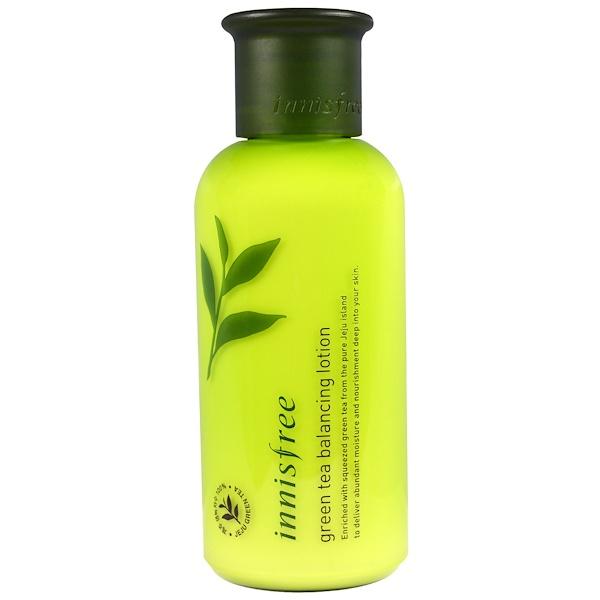 Innisfree, Green Tea Balancing Lotion, 160 ml (Discontinued Item)
