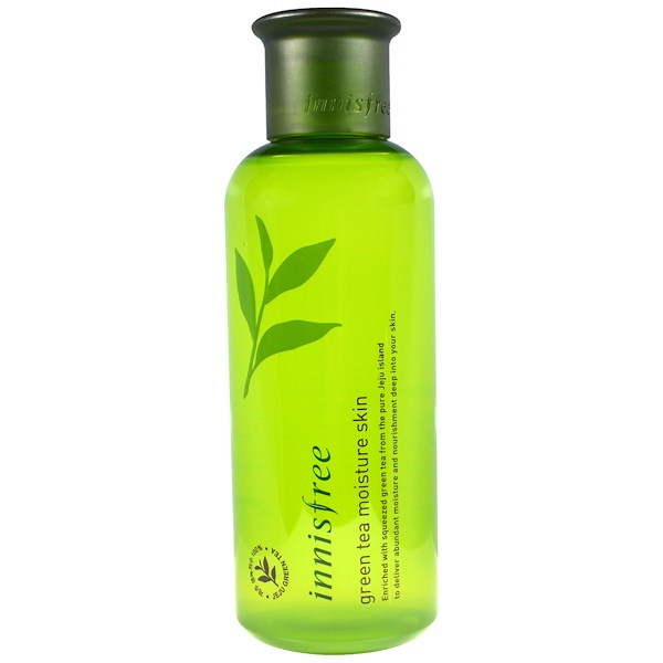 Innisfree, Green Tea Moisture Skin, 6.7 oz (200 ml) (Discontinued Item)