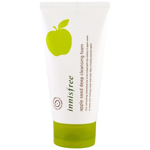 Innisfree, Apple Seed Deep Cleansing Foam, 5 oz (150 ml) (Discontinued Item)