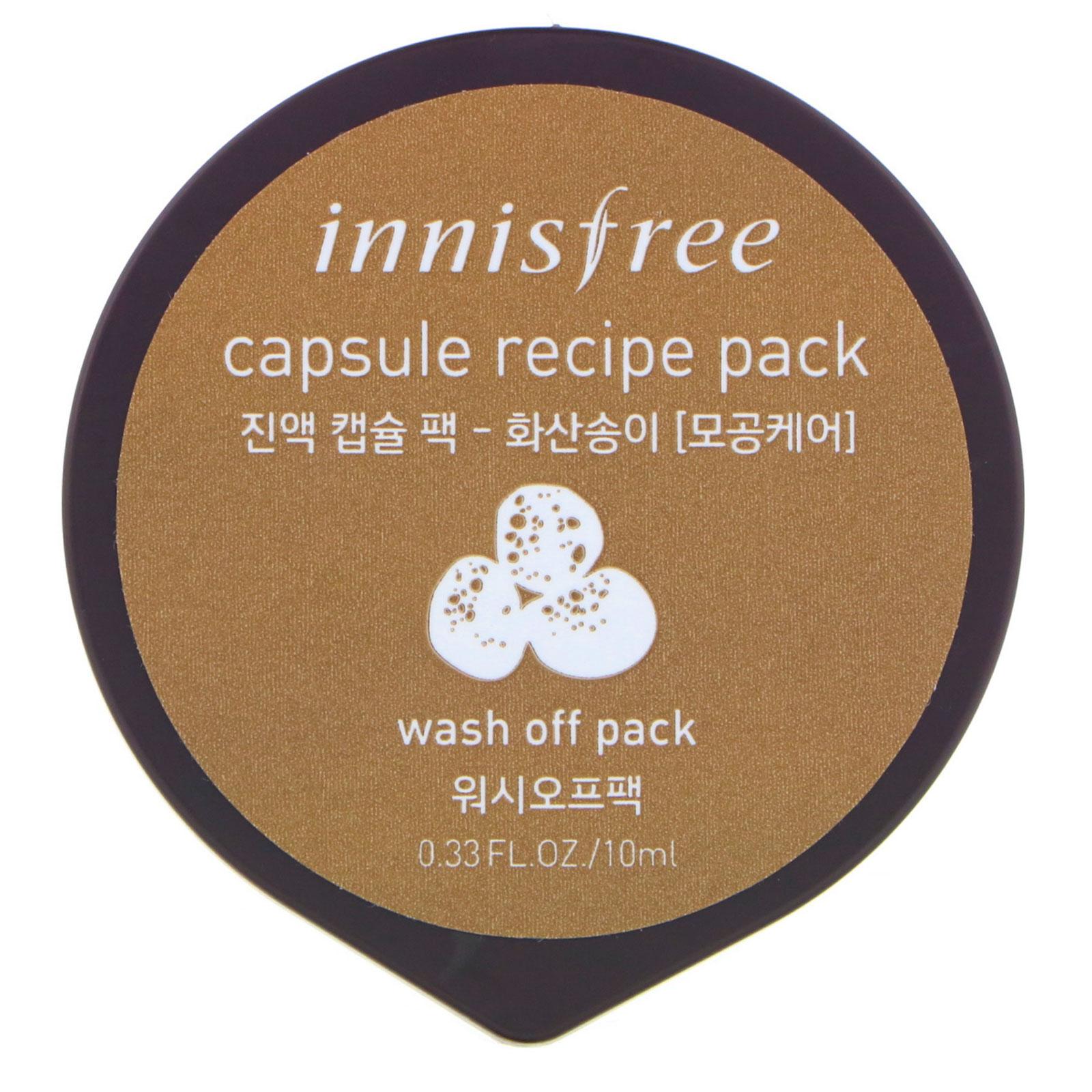 Innisfree, Capsule Recipe Pack, Volcanic Cluster, 0.33 fl oz (10 ml) - iHerb.com