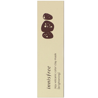 Innisfree, Jeju Volcanic Color Clay Mask, Brightening, 70 ml
