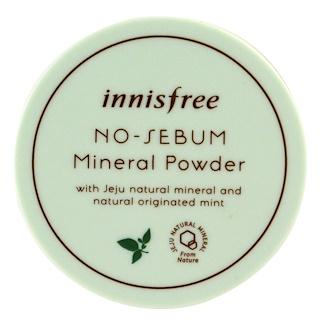 Innisfree, Pó Mineral Antissebo, 5 g