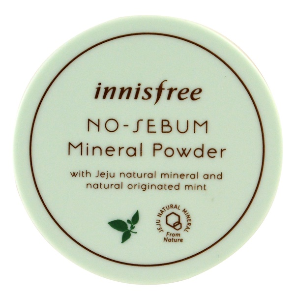 Innisfree, No-Sebum Mineral Powder, 5 g (Discontinued Item)