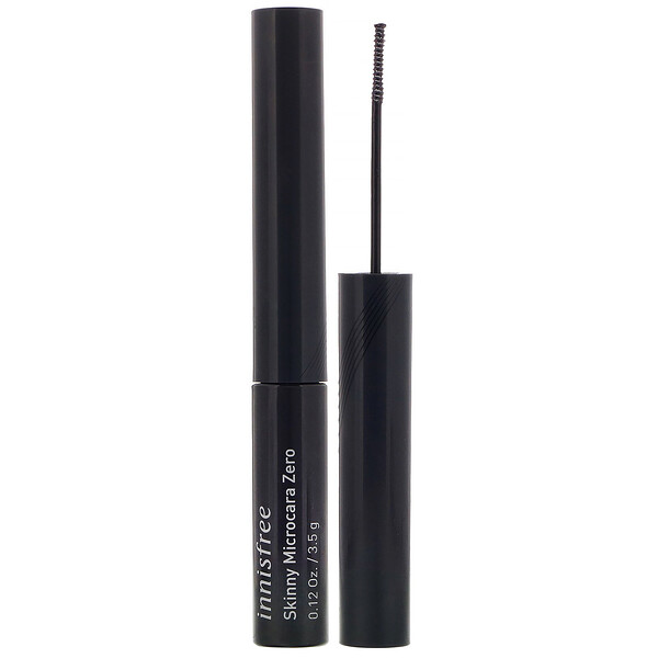 Innisfree, Skinny Microcara Zero, Black, 0.12 oz (3.5 g) (Discontinued Item)