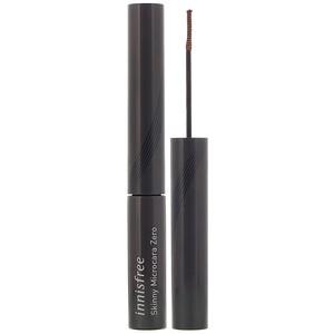 Иннисфри, Skinny Microcara Zero, Brown, 0.12 oz (3.5 g) отзывы покупателей