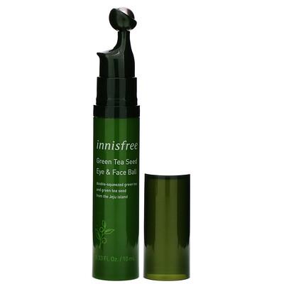 Купить Innisfree ролик для кожи лица и зоны под глазами с маслом семян зеленого чая, 10мл (0, 33 жидк. унции)