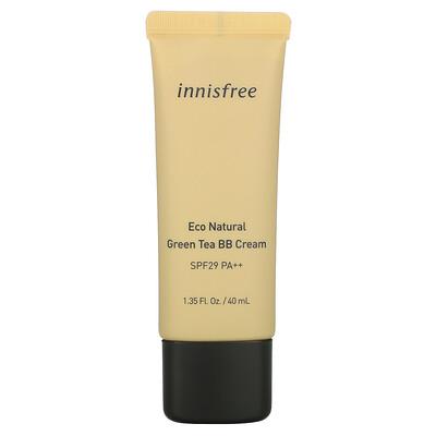 Купить Innisfree Eco Natural Green Tea BB Cream, SPF 29 PA++, 1.35 fl. oz. (40 ml)