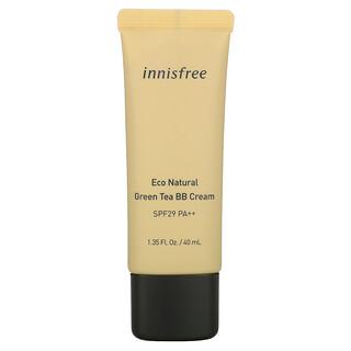 Innisfree, Eco Natural Green Tea BB Cream, SPF 29 PA++, 1.35 fl. oz. (40 ml)