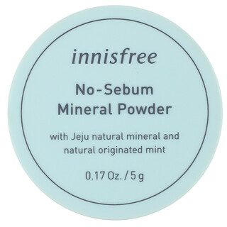 Innisfree, No-Sebum Mineral Powder, 0.17 oz (5 g)