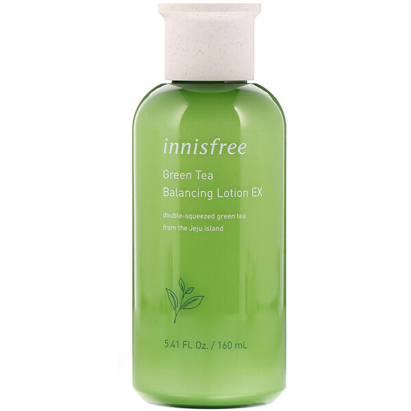 Innisfree, Green Tea Balancing Lotion EX, 5.41 fl oz (160 ml)