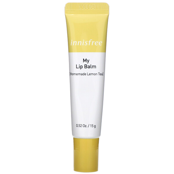 Innisfree, My Lip Balm, Homemade Lemon Tea, 0.52 oz (15 g) (Discontinued Item)