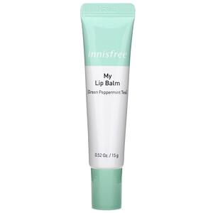 Иннисфри, My Lip Balm, Green Peppermint Tea, 0.52 oz (15 g) отзывы