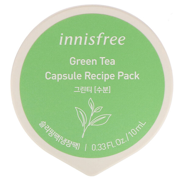Capsule Recipe Pack, Green Tea, 0.33 fl oz (10 ml)