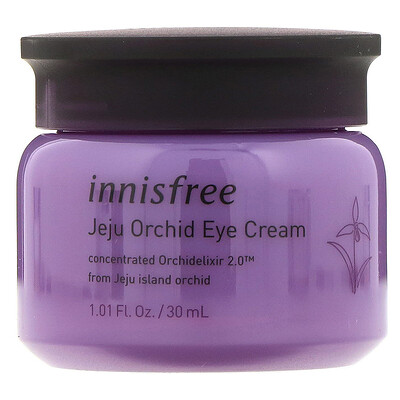 Купить Innisfree Крем для кожи вокруг глаз с экстрактом орхидеи, 30мл