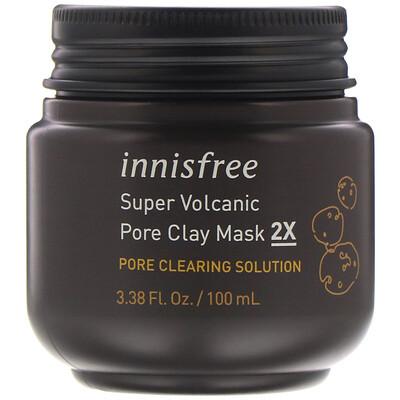 Купить Innisfree очищающая маска для пор из вулканической глины 2X, 100мл (3, 38жидк.унции)