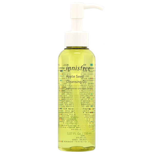 Innisfree, Apple Seed Cleansing Oil, 5.07 fl oz (150 ml)