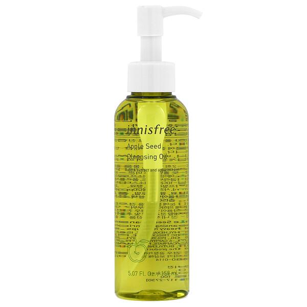 Innisfree, Apple Seed Cleansing Oil, 5.07 fl oz (150 ml) (Discontinued Item)