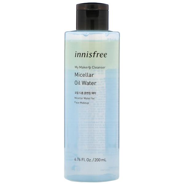 Innisfree, 我的卸妝系列膠束精油卸妝水,6.76 液量盎司(200 毫升)