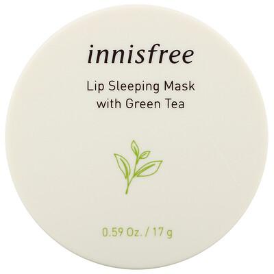 Купить Innisfree Lip Sleeping Mask with Green Tea, 0.59 oz (17 g)