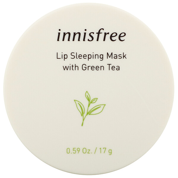 Lip Sleeping Mask with Green Tea, 0.59 oz (17 g)