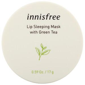 Иннисфри, Lip Sleeping Mask with Green Tea, 0.59 oz (17 g) отзывы