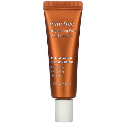 Купить Innisfree Jeju Hallabong Daily Skin Bright, Brightening Pore Spot Treatment, 1.01 fl oz (30 ml)