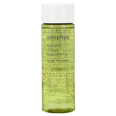 Купить Innisfree Apple Seed Lip & Eye Makeup Remover, 3.38 fl oz (100 ml)