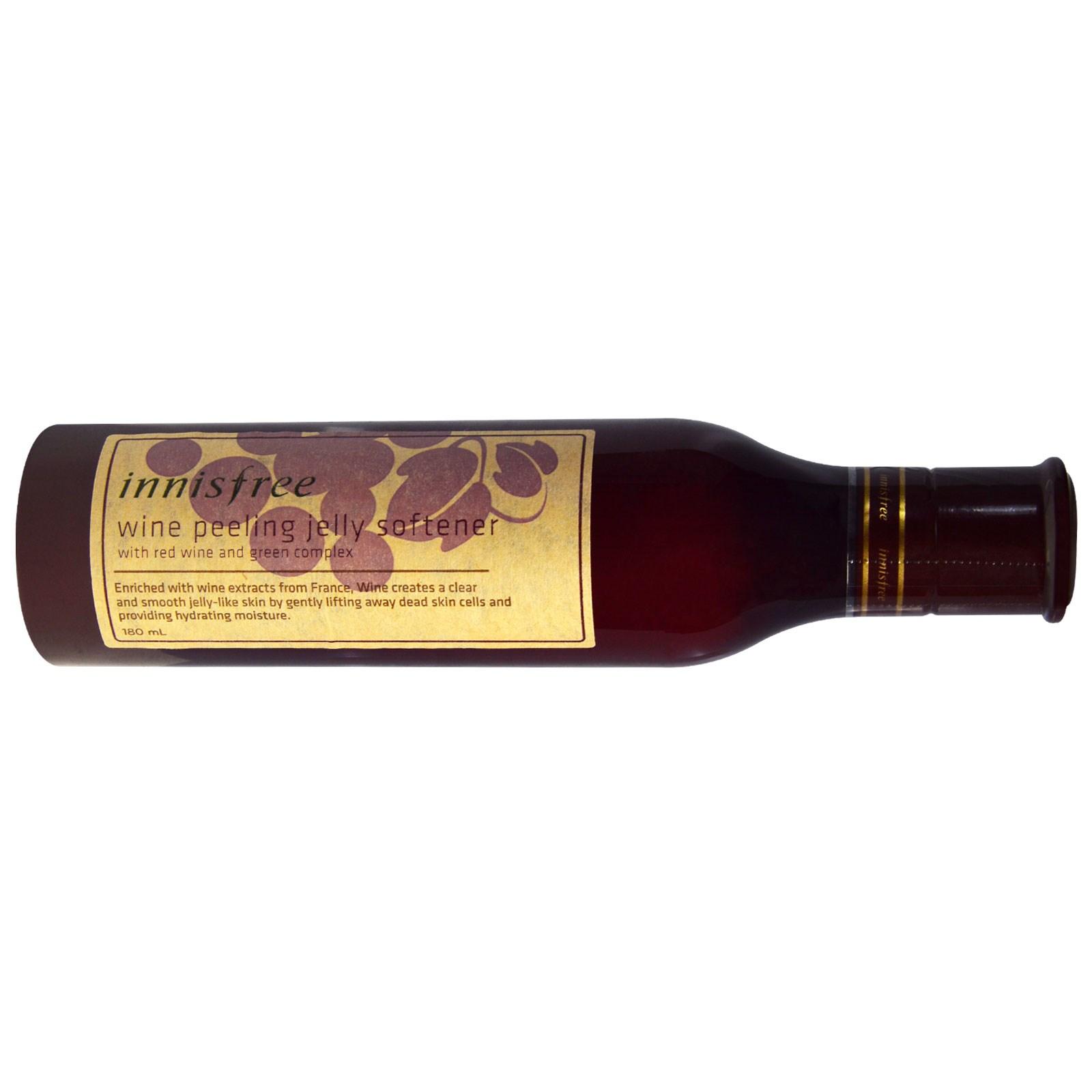 Innisfree, Умягчающее желе-пилинг с вином, 180 мл