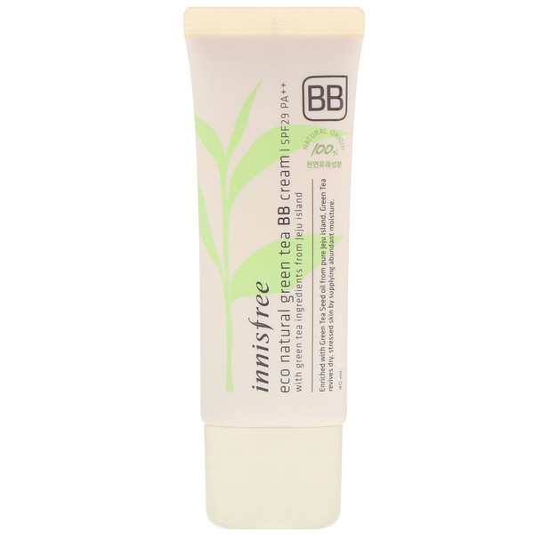 Innisfree, Eco Natural Green Tea BB Cream, SPF 29 PA++ , 40 ml (Discontinued Item)