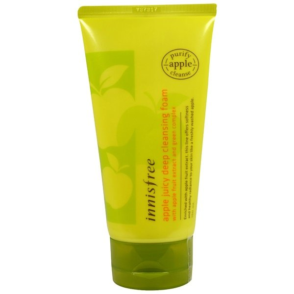 Innisfree, Apple Juicy Deep Cleansing Foam, 5 oz (150 ml) (Discontinued Item)