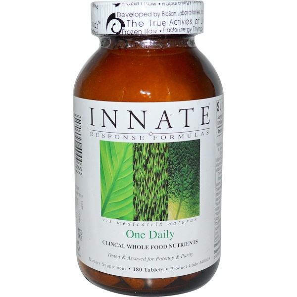 Innate Response Formulas, One Daily, 180 Tablets (Discontinued Item)