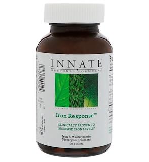 Innate Response Formulas, Iron Response, 90 таблеток