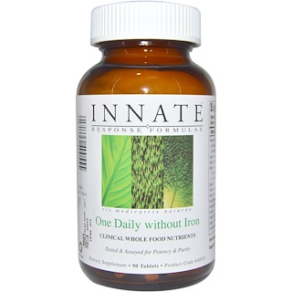 Innate Response Formulas, One Daily without Iron, 90 Tablets