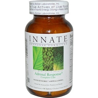 Innate Response Formulas, Adrenal Response Complete Care, 90 Tablets