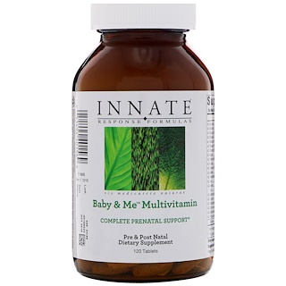 Innate Response Formulas, Baby & Me Multivitamin, 120 Tablets