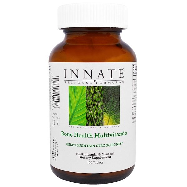 Innate Response Formulas, Bone Health Multivitamin, 120 Tablets (Discontinued Item)