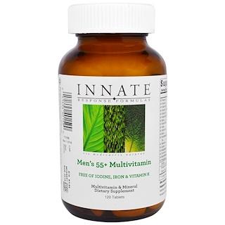Innate Response Formulas, Мультивитаминный комплекс для мужчин 55+, 120 таблеток