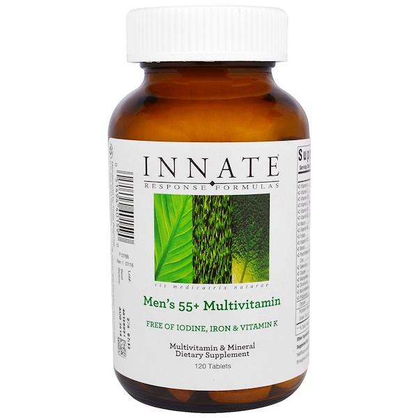 Innate Response Formulas, Men's 55+ Multivitamin, 120 Tablets (Discontinued Item)