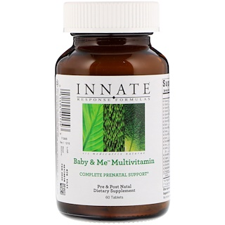 Innate Response Formulas, Baby & Me Multivitamin, 60 Tablets