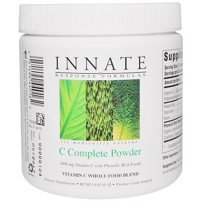 Купить Innate Response Formulas Полный комплекс C, Порошок, 2.9 унции (81 г)