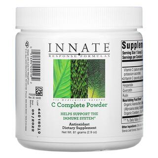 Innate Response Formulas, C-Complete Powder,2.9 盎司(81 克)
