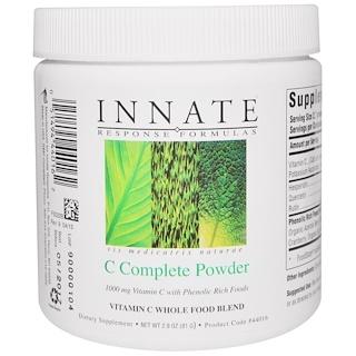 Innate Response Formulas, C-Complete Powder, 2.9 z (81 g)
