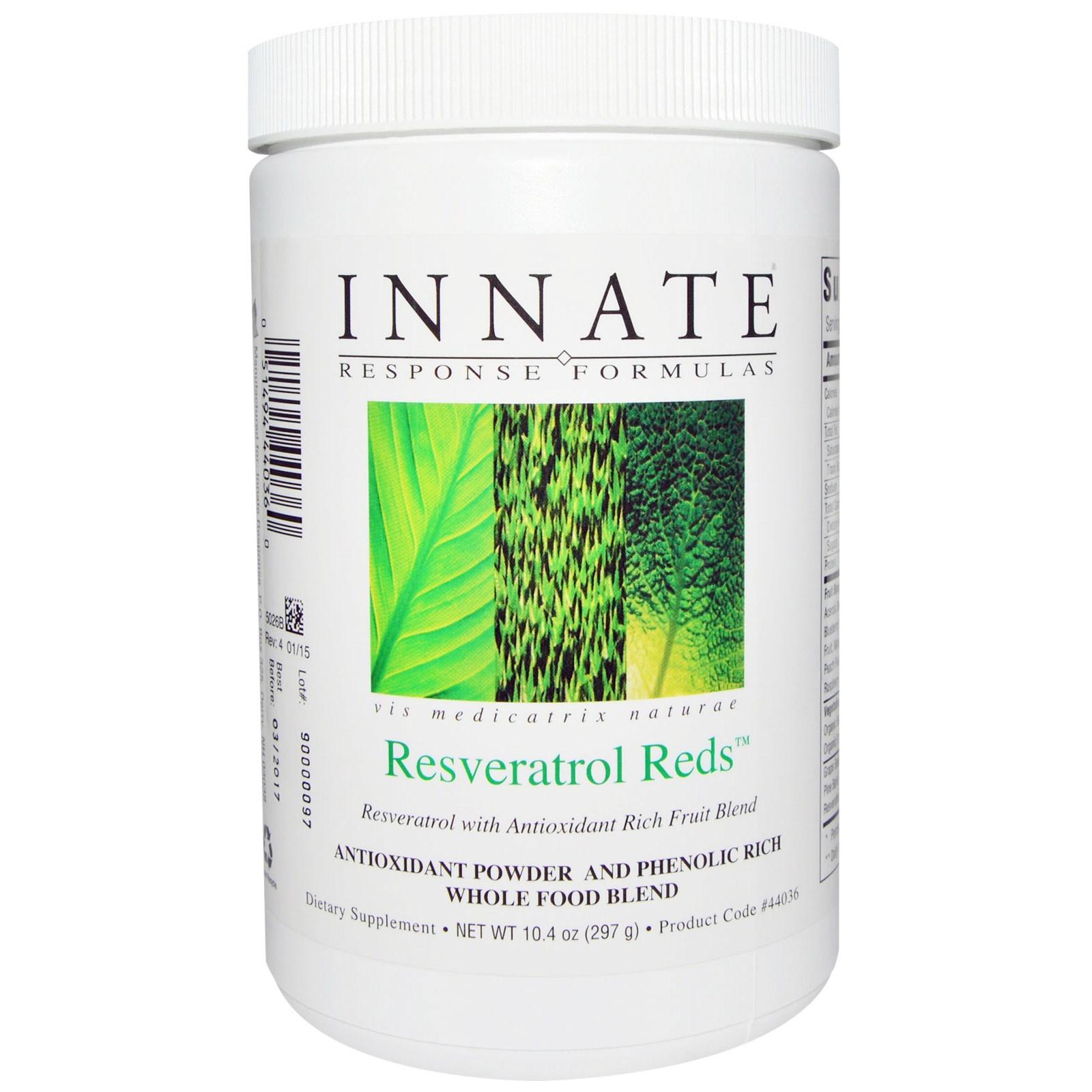 Innate Response Formulas, Ресвератрол Редз, 10.4 унции (297 г)