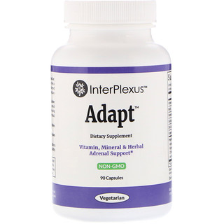 InterPlexus Inc., Adapt, 90 cápsulas