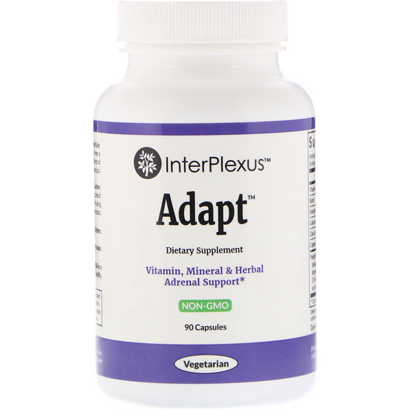 InterPlexus , Adapt, 90 Capsules