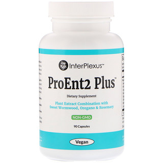 InterPlexus Inc., ProEnt2 Plus, 90 Capsules