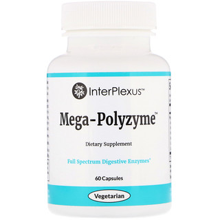 InterPlexus Inc., Mega-Polyzyme, 60 Capsules