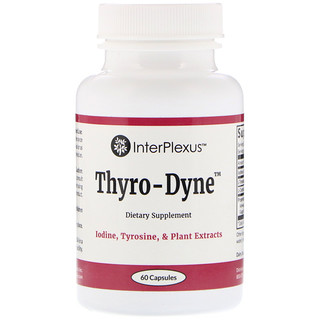 InterPlexus Inc., Thyro-Dyne, 60 Capsules