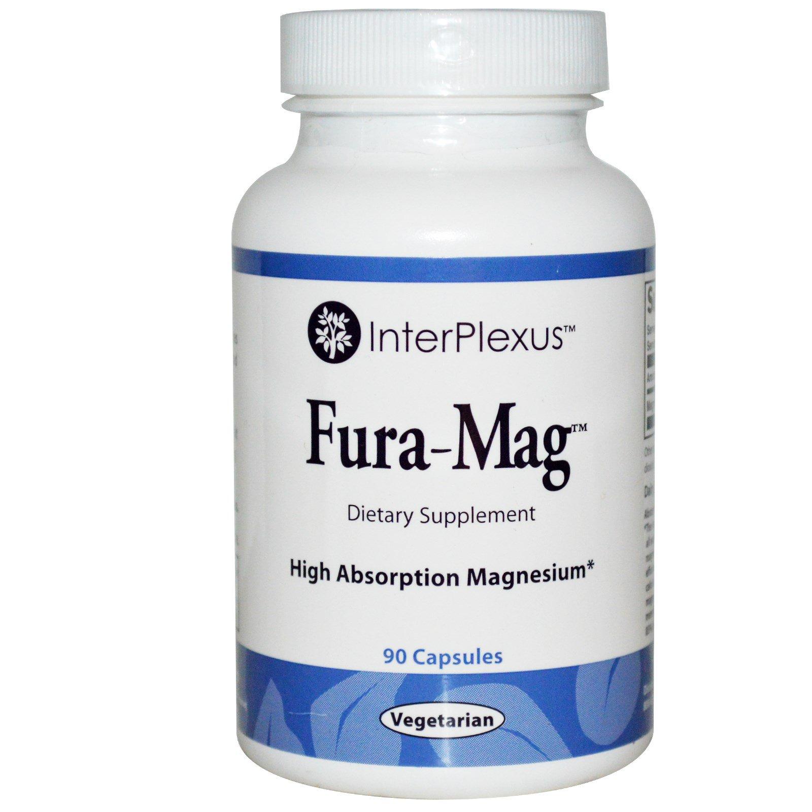 InterPlexus Inc., Fura-Mag, 90 капсул